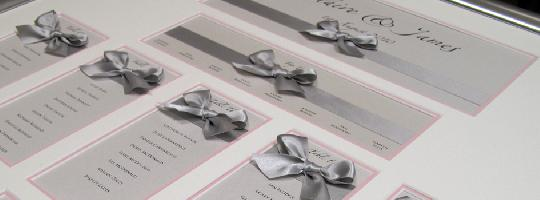 Your Wedding Table Plans